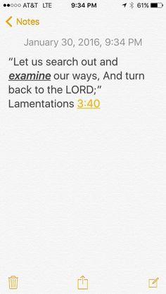#The Word #examine