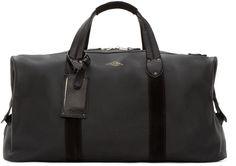 Image result for rag bone black leather duffle