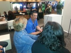 Jorge Olavarietta at the Intuit booth at #snh14