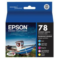 I'm learning all about Epson Color Ink Multipack - T078920 at @Influenster!