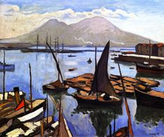 The Port of Naples (Albert Marquet - )