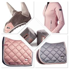 Equestrian Stockholm Pink Pearl and Dusty Pink collections are now available #equestrian #equestrianstockholm #horse #horses #equestrianperformance