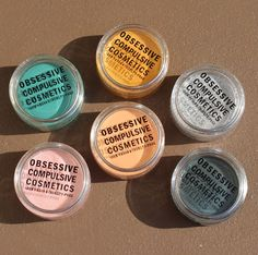 OCC Creme Colour Concentrates review and swatches