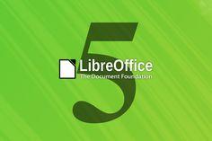 Disponible LibreOffice 5, más potente que nunca   Available LibreOffice 5, more powerful than ever   #Linux #LibreOffice5