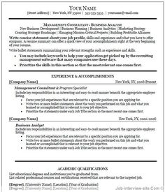 15 executive resume templates word resume template ideas