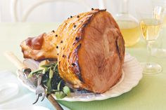 Christmas+just+isn't+the+same+without+a+giant+leg+of+ham+with+it's+beautiful+caramelised+surface.