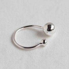 d94b9ffcfd87 Adjustable Fashion Ball Rings (925 Sterling Silver)