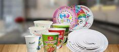 Sản phẩm đĩa giấy, ly giấy cao cấp dùng một lần như là một đồ dùng thiết yếu cần thiết trong cuộc sống của con người. Loại sản phẩm chứa thực phẩm, đồ ăn, đồ uống bằng giấy dùng một lần xuất hiện ngày càng nhiều trên thị trường và được bày bán ở khắp các cửa hàng tạp hóa, cửa hàng đồ gia dụng v..v..