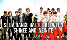 See a dance battle between SHINee and Infinite