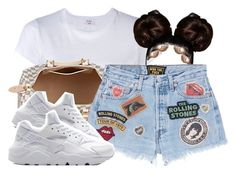"""""""Untitled #692"""" by zayani ❤ liked on Polyvore featuring RE/DONE and MadeWorn"""