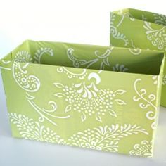 Love the fabric choice on these drawer organizers!  @Looksi Square  #thethinkingcloset