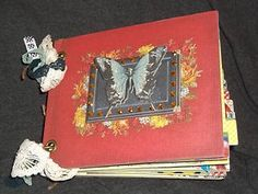 An amazingly colorful daily journal/photo album from Melody Ross that I put together. $39.99