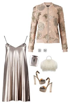 """Metallics"" by sistagirll on Polyvore featuring Giuseppe Zanotti, Boohoo, Miss Selfridge, Chanel and Effy Jewelry"