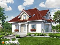 Dom w werbenach 4 (W) - zdjęcie Home Fashion, Mansions, House Styles, Home Decor, Projects, Decoration Home, Manor Houses, Room Decor, Villas