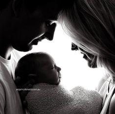 Parents with newborn baby boy ❤️
