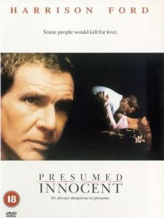 Lawyer Movies Weekend Presumed Innocent (1990) - When the woman deputy prosecutor R.K. Sabich had an affair with is murdered the prosecutor asks him to lead the investigation. When Sabich digs too deeply he finds himself framed for the murder. #GTB #Lawyermovies