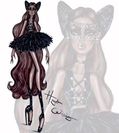 Couture Ballet by Hayden Williams: 'Plume Noir'
