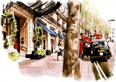 Philip Bannister  - Cityscapes Paintings by Philip Bannister  <3 <3