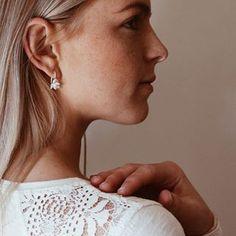 Sterling Silver & Freshwater Pearl Dew Blossoms#beauty #innerbeauty #pearls #sterlingsilver #poppydotsdesign