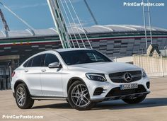 Mercedes-Benz GLC Coupe 2017 poster, #poster, #mousepad