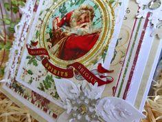 Fasters korthus: Santa card
