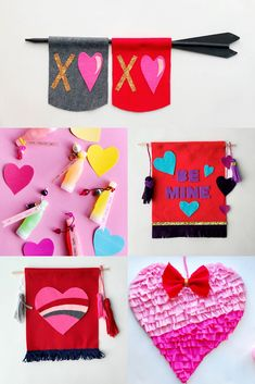 Valentine's Day crafts, gift ideas and home décor!