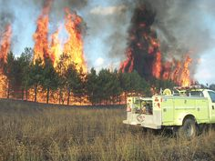 Extreme events--like wildfires, drought, and high temperatures--continue to make headlines throughout the United States. Photo credit: Flickr/Wisconsin Department of Natural Resources