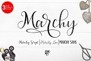 Marchy Script - Script - 1