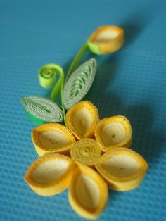 Flowers. Quilling