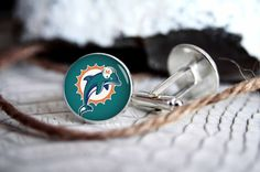 Miami Dolphins football personalized by TheBlueAgaveStudio on Etsy, $12.00
