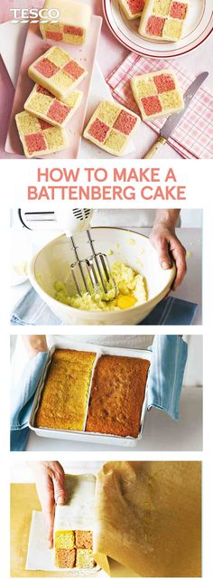 This Battenberg cake recipe is a British afternoon tea classic - master the chequered bake with our easy recipe. | Tesco