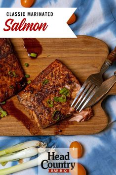Grilled Classic Marinated Salmon Recipe Sauce Recipes, Keto Recipes, Dinner Recipes, Grilled Fish, Grilled Salmon, Salmon Recipes, Seafood Recipes, Head Country Bbq Sauce Recipe, Healthy Snacks To Make
