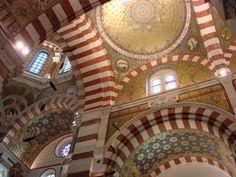Une architecture de style Romano-Byzantin - Site officiel de la Basilique Notre-Dame de la Garde Marseille