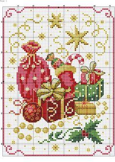 Bordini free border patterns for christmas cross stitch Cross Stitch Christmas Ornaments, Xmas Cross Stitch, Cross Stitch Needles, Christmas Embroidery, Cross Stitch Charts, Cross Stitch Designs, Cross Stitching, Cross Stitch Embroidery, Embroidery Patterns