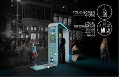 ניו יורק בחרה בתחרות 6 הצעות להמרת הטלפונים הציבוריים למרכזי תקשורת. הציבור נקראלהכריע