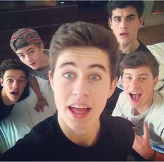 nash grier, jack and jack, cameron, and shawn