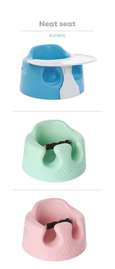 The Bumbo Floor Seat has a contoured design to help Baby sit upright, perfect for playtime or mealtime.