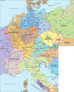 Heiliges Römisches Reich um 1000 |  Deutschland -