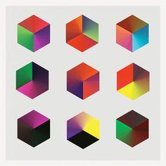 Bruno Herfst - Cubes vs diamond: a hexagon perspective