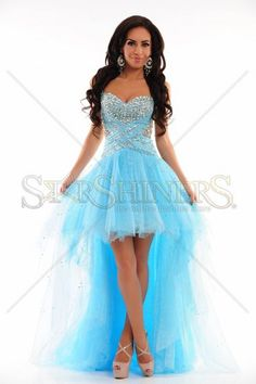 Sherri Hill 21168 Blue Dress