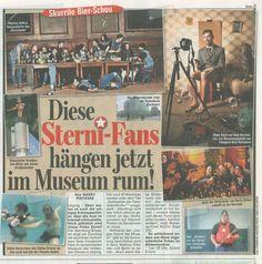 """Sternburg zeigte bei der Sternissage """"Spätwerke der Feierabendkultur"""" die schönsten und kreativsten Werke seiner Fans! Wer darüber mehr erfahren will, hier: http://www.bild.de/regional/leipzig/bierbauch/dieser-bierbauch-kommt-jetzt-ins-museum-30197156.bild.html  #Sternburg #Sterniversum #Kunst #Art"""