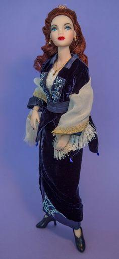 Franklin Mint Titanic Flying Blue Velvet OOAK Outfit Only Fits Gene Marshall   eBay