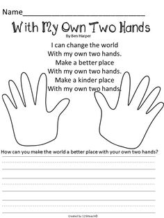 Hand Print Book, Writing Prompts, & More - Liz K -Martin Luther King Jr. Hand Print Book, Writing Prompts, & More - Liz K - Bulletins, Writing A Book, Writing Prompts, Writing Lessons, Classroom Activities, Anti Bullying Activities, Diversity Activities, Harmony Day Activities, Bullying Worksheets