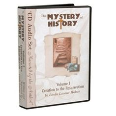 The Mystery of History Vol 1 in AUDIO format!!! I'm so excited about this. Now my girls can read and listen at the same time! LOVE this history course!!