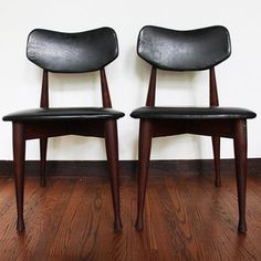 Mid-Century Chairs Set of 2 now featured on Fab.