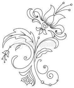tulip embroidery patterns - Google'da Ara