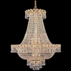 Costco: Lighting by Pecaso Ashonte Chandelier in Gold