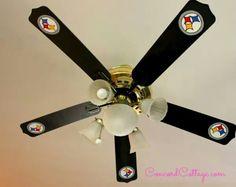 Steelers ceiling fan.