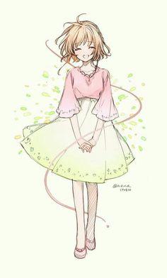This is so pretty Cardcaptor Sakura, Sakura Haruno, Anime Sakura, Manga Anime, Syaoran, Manga Girl, Anime Art, Sakura Sakura, Hinata Hyuga