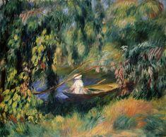 Pierre-Auguste Renoir, Das Boot, um 1878  Museum Langmatt | Baden